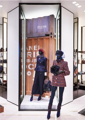 Обновленный бутик Chanel вТЦ«Крокус Сити Молл» (фото 1.2)