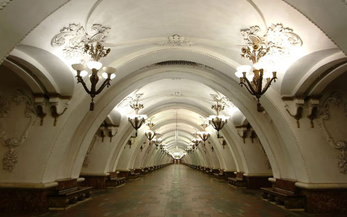 москва метро станции фото