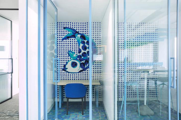 Эклектичный офис в Дубае (фото 5)