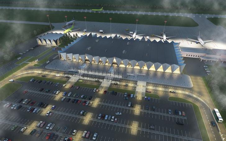 Проект реконструкции аэропорта Нового Уренгоя (фото 8)