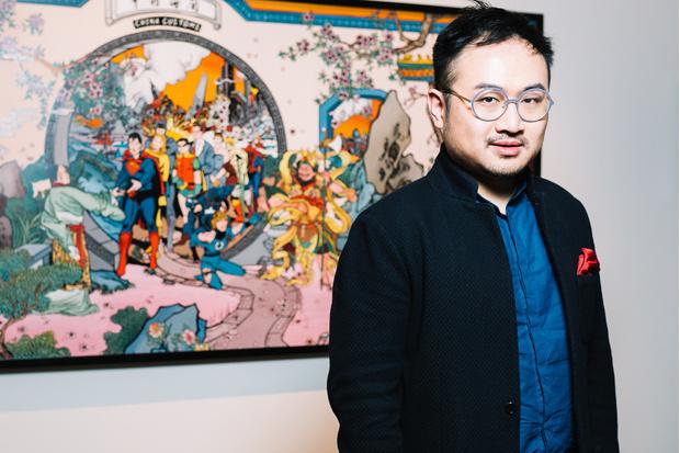 Супергерои в китайский пейзажах: выставка Джеки Цая (фото 0)