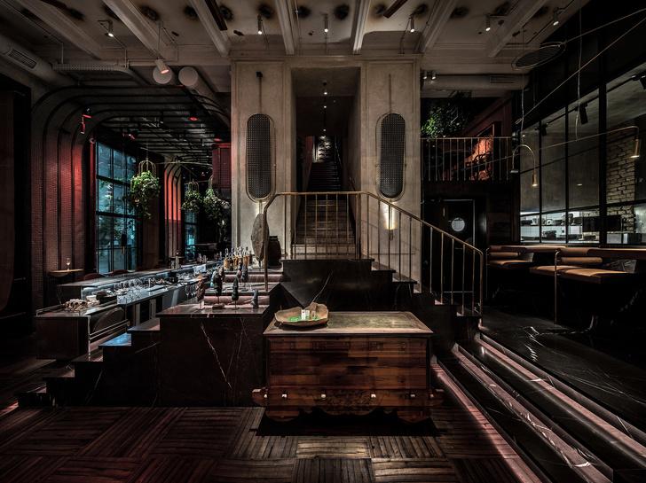 Вьетнамский ресторан в Киеве по проекту YOD Design Lab (фото 7)