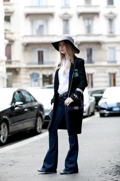 С чем носить джинсы осенью фото | галерея [4] фото [2]