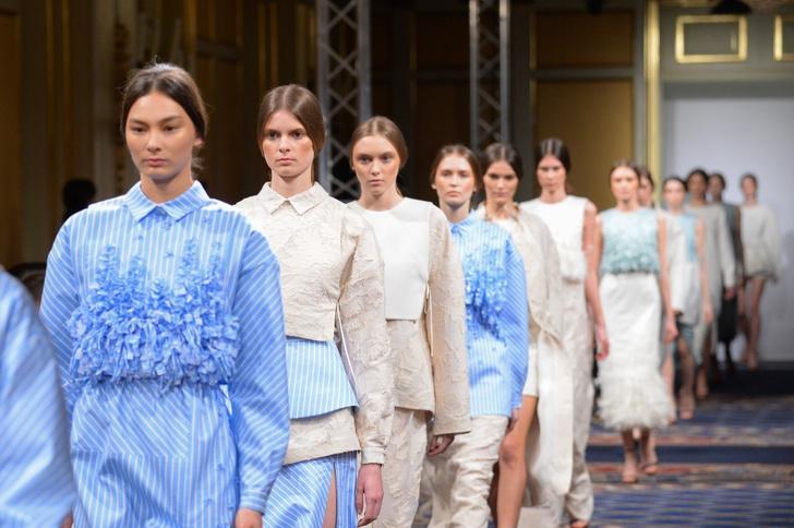 Показ осенне-зимней коллекции Ruban на Mercedes-Benz Fashion Week Russia