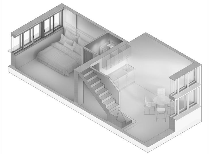 Конкурс на разработку дизайн-проекта для «Дома Наркомфина» (фото 2)