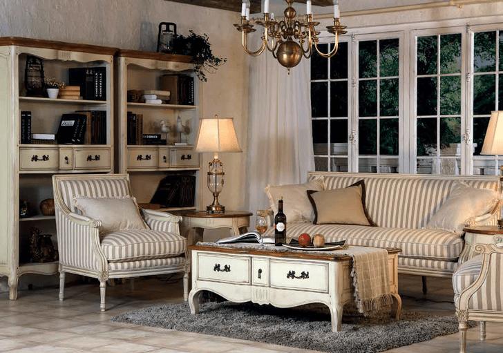 Мебель в стиле прованс для русской зимы (фото 4)