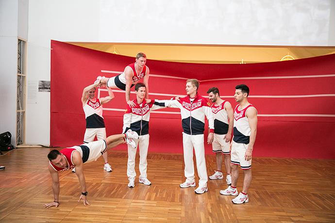 Новая форма Олимпийской сборной России