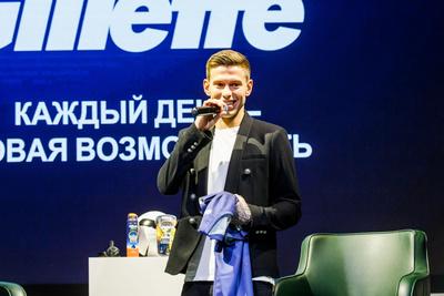 Федор Смолов стал амбассадором Gillette в России (галерея 3, фото 2)