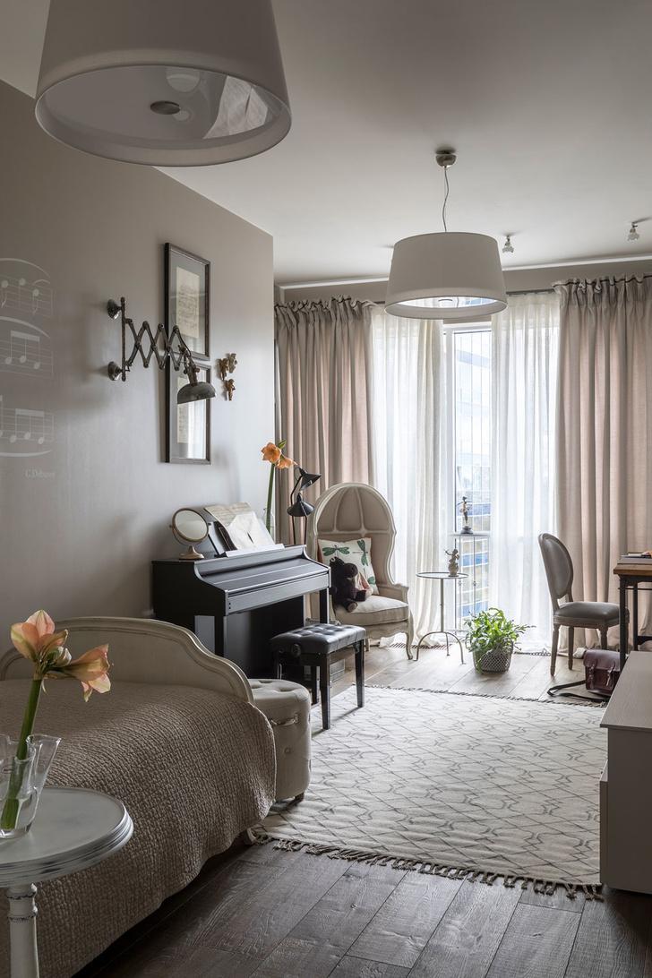 Квартира 200 квадратных метров в Москве: современный интерьер с налетом старины (фото 34)