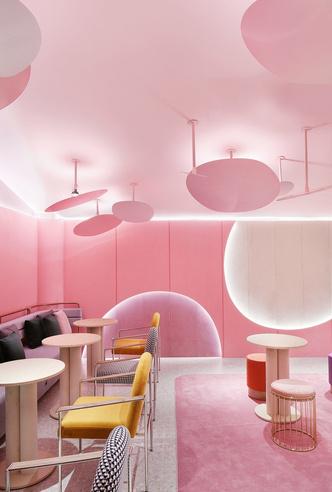 Розовый бутик Villa de Mûrir в Сеуле (фото 5.1)