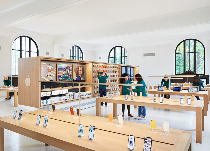 Новый Apple Store по проекту Foster + Partners в Вашингтоне (фото 9)
