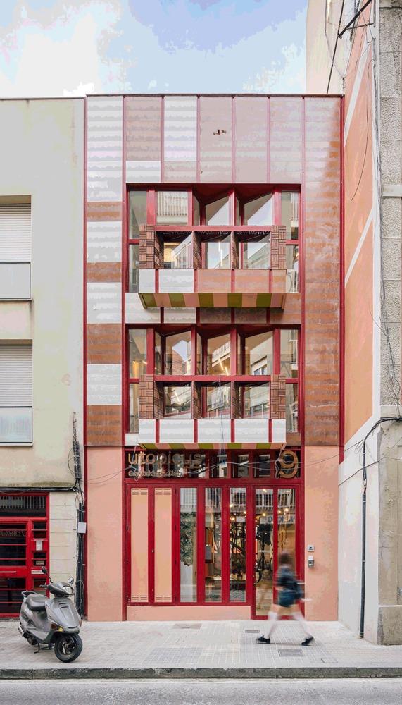 Яркий коворкинг в духе архитектуры Гауди (галерея 10, фото 4)