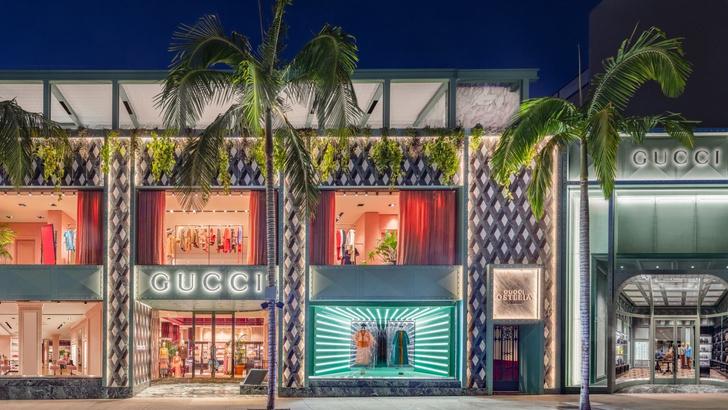 Ресторан Gucci Osteria в Лос-Анджелесе (фото 0)