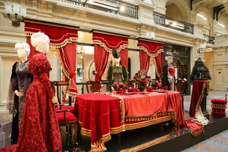 В ГУМе открылась выставка костюмов и украшений из фильма «Матильда» | галерея [1] фото [1]