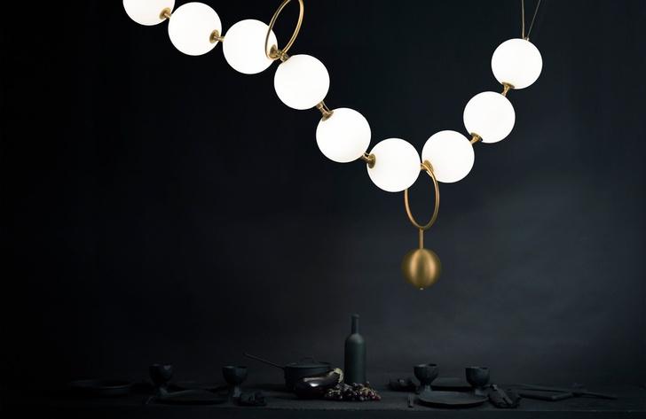 Жемчужная нить: коллекция светильников (фото 4)