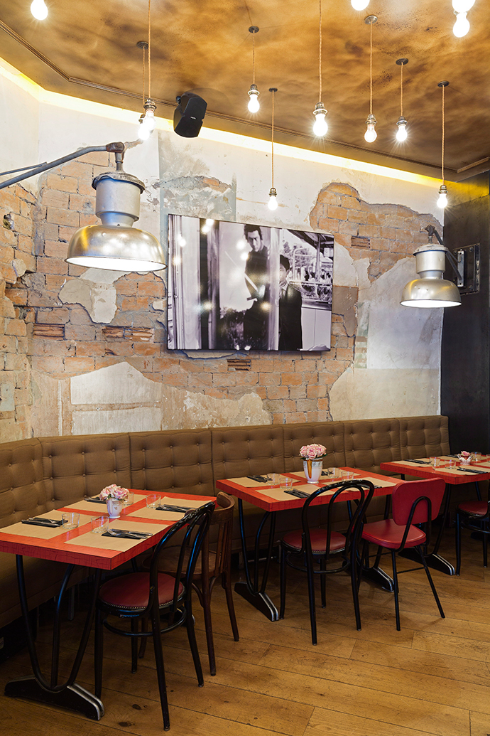 Ресторан Comptoir Сentral Electrique