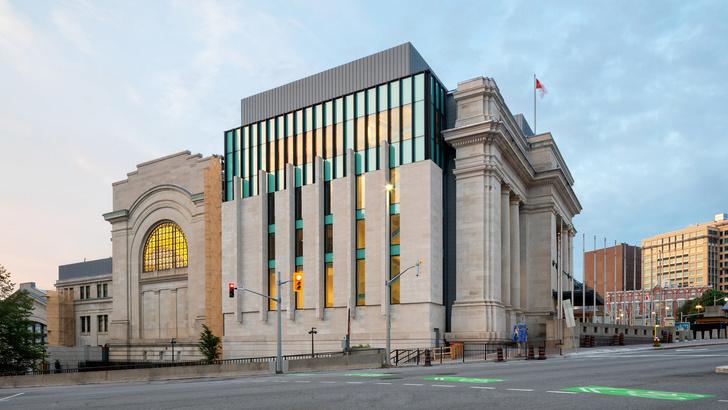 Новый дом Сената Канады в здании бывшего вокзала Оттавы (фото 4)