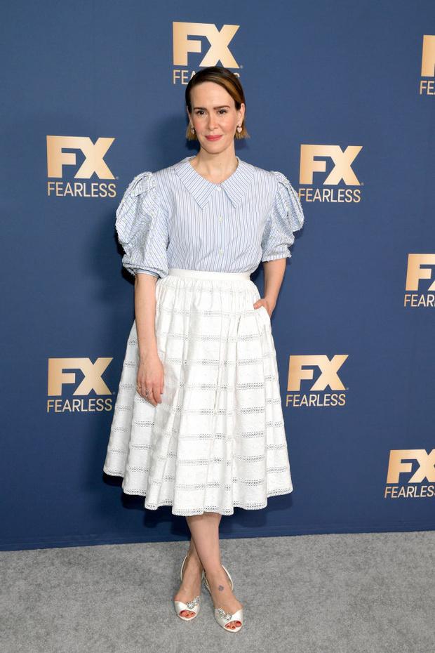 Возвращение самой стильной актрисы Голливуда: Сара Полсон на красной дорожке (фото 1)
