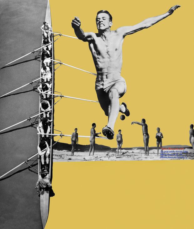 Фрагмент 16-метрового фотоколлажа Перриан «Великая нищета Парижа», сделанного для выставки домашней утвари в Гран-Пале в 1936 году.