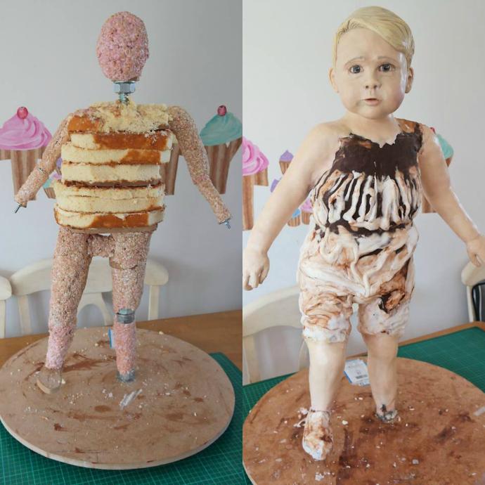 Торт в виде принца Георга