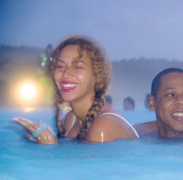 Бейонсе с мужем: фото