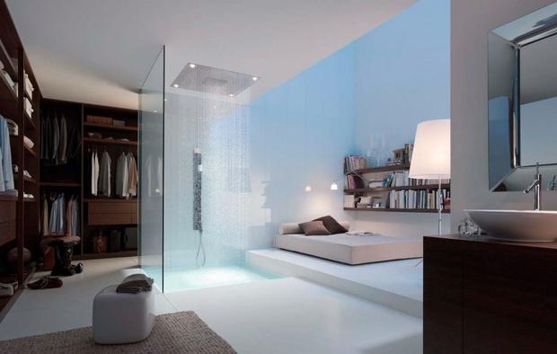 Стильная ванная комната: 10 актуальных трендов (фото 36)