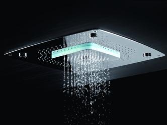 Топ 12: освещение в ванной. Мебель, зеркала, душевые лейки и ванны со встроенной подсветкой (фото 19.1)