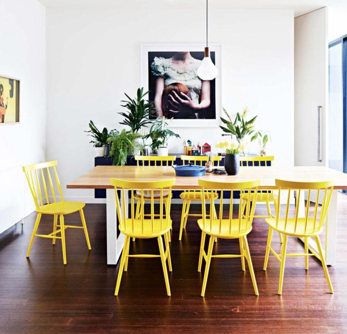 Желтый цвет в интерьере: советы и приемы (фото 4)