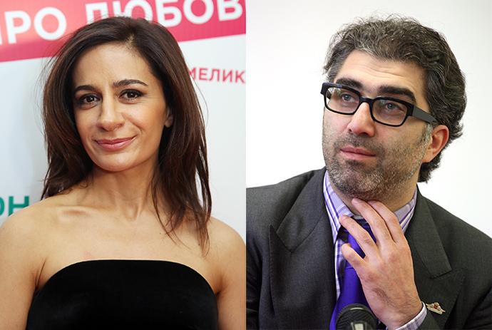 Анна Меликян и Даниил Хачатуров