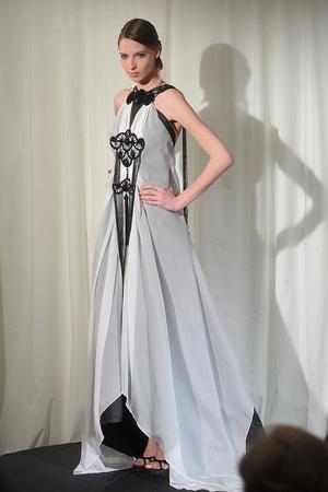 Показ Dominique Sirop коллекции сезона Весна-лето 2009 года Haute couture - www.elle.ru - Подиум - фото 86495