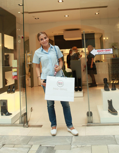 Marie Claire провел осенний фестиваль Shoes First в ГУМе | галерея [1] фото [1]
