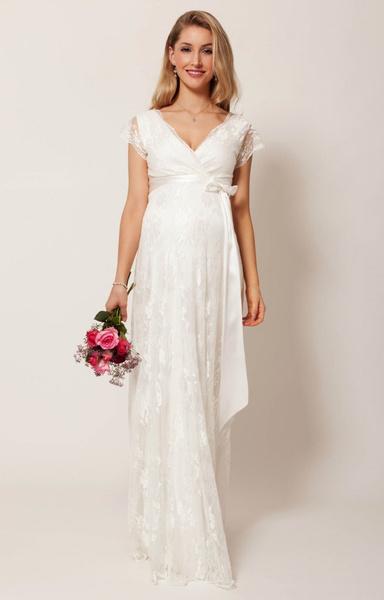 Свадебные платья для беременных невест   галерея [1] фото [8]
