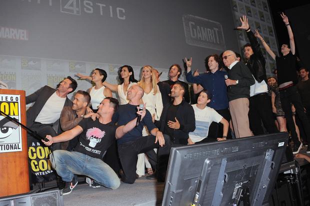 Гости фестиваля Comic-Con 2015