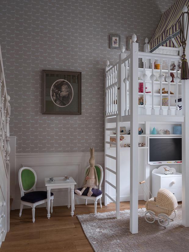 Квартира в классическом стиле на Чистых прудах: проект Дарьи Руссу (фото 12)