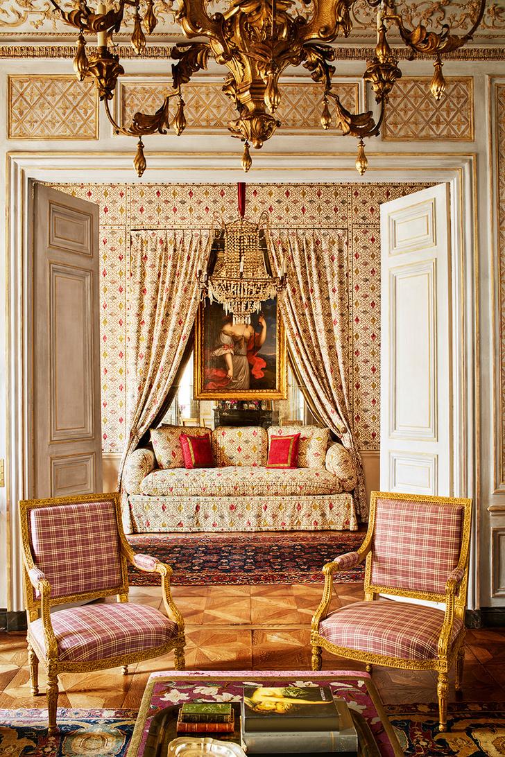 Квартира в парижском особняке XVIII века фото [5]