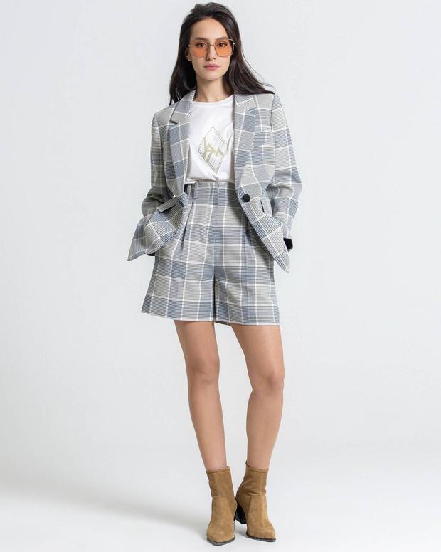 Три бренда, у которых можно купить костюм с шортами, похожий на тот, что выбрала Кейт Аптон (фото 4)