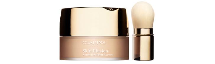 Минеральная рассыпчатая пудра Skin Illusion от Clarins новое тональное средство