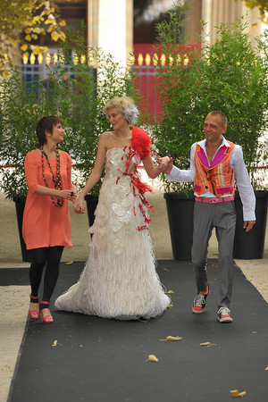 Показ On Aura Tout Vu коллекции сезона Осень-зима 2009-2010 года haute couture - www.elle.ru - Подиум - фото 88217