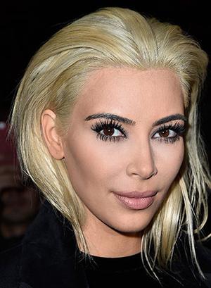 Ким Кардашьян модные прически весна лето 2015