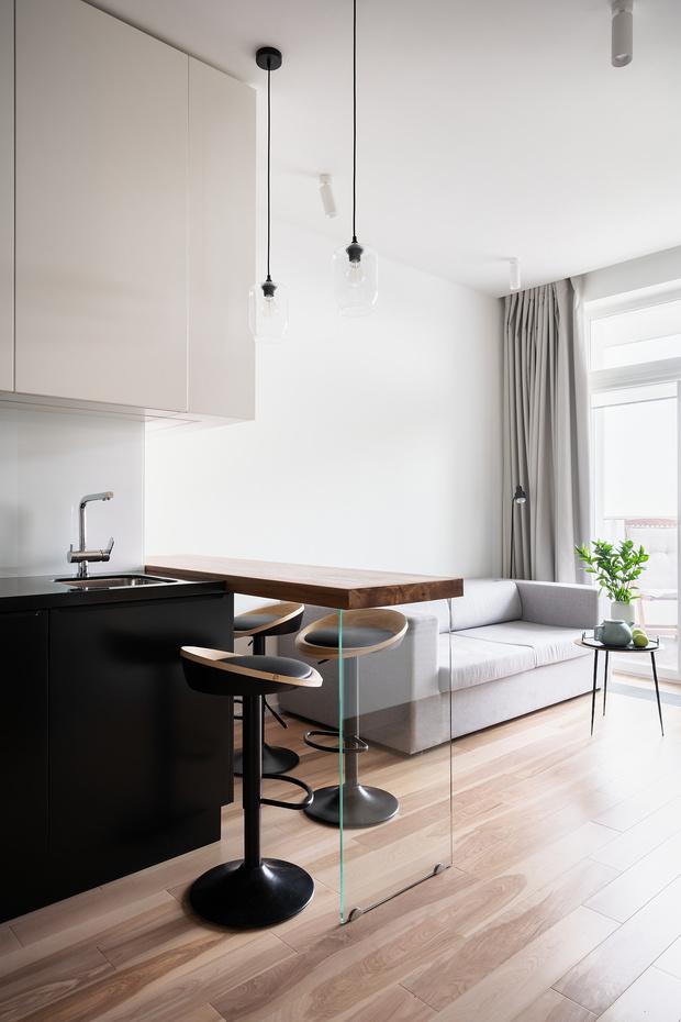 Минималистичная квартира 54 м² в Химках (фото 12)