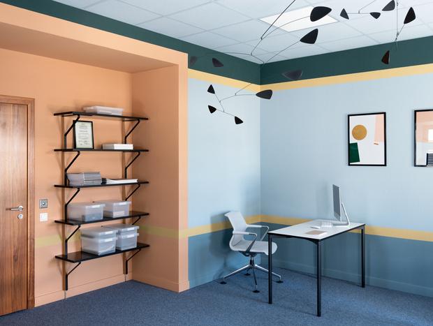 Новый офис 40 м² в старинном особняке (фото 7)