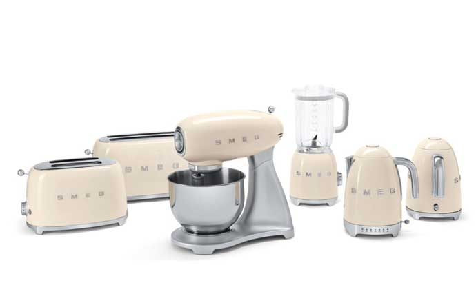 Smeg, бытовая техника, кухня, дизайн
