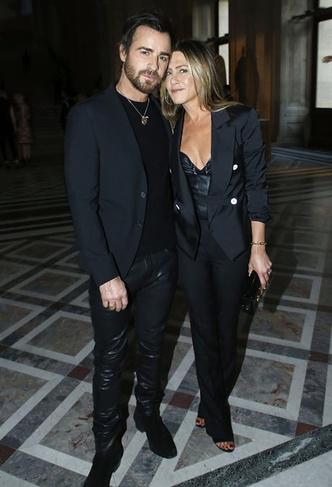 Дженнифер Энистон и Джастин Теру в Париже