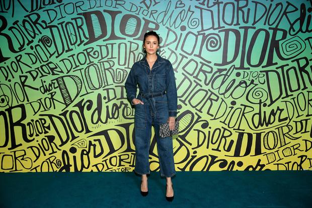 Винни Харлоу, Ким Кардашьян и другие гости показа Dior (фото 7)