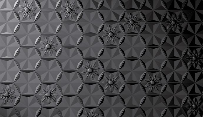 Bisazza Ceramica, Frozen Garden, Марсель Вандерс, плитка, дизайн, стены