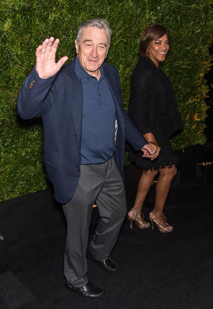 Роберт Де Ниро с женой: фото 2015