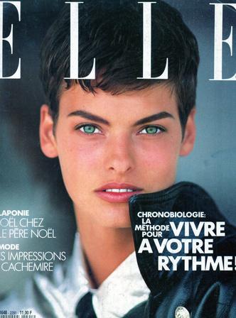 Oh bella! Лучшие обложки ELLE с легендарной Линдой Евангелистой (фото 2.2)