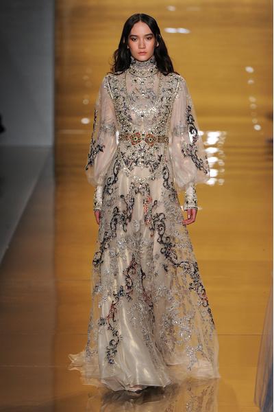 Black tie: показы Carolina Herrera, Reem Acra и Zac Posen на Неделе моды в Нью-Йорке | галерея [3] фото [2]