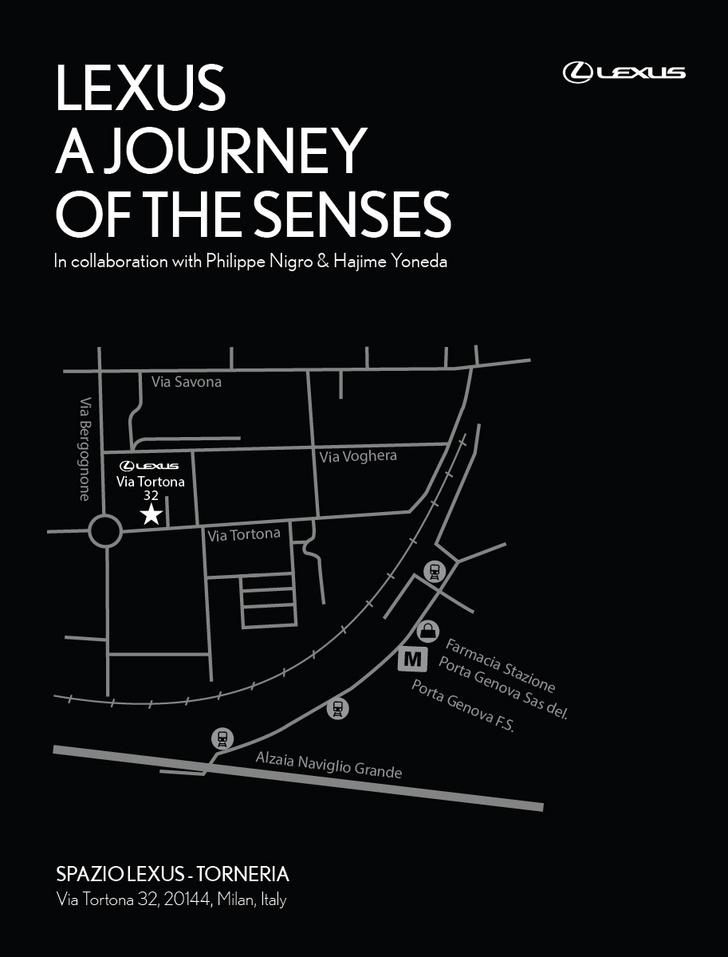Выставка Journey of the Senesce - проект Lexus