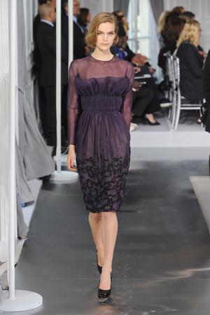 Показ Christian Dior коллекции сезона Весна-лето 2012 года Haute couture - www.elle.ru - Подиум - фото 330481